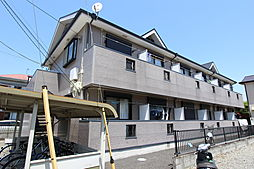 神奈川県平塚市纒の賃貸アパートの外観