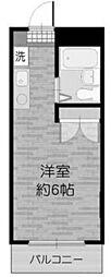クレスト多摩川[5階]の間取り