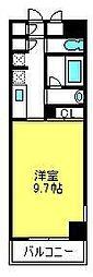 埼玉県さいたま市中央区上落合9丁目の賃貸マンションの間取り
