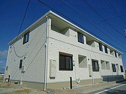 愛知県田原市浦町丸山の賃貸アパートの外観