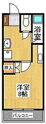 レジデンス高松[603号室]の間取り