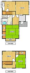 [一戸建] 福岡県福岡市東区若宮2丁目 の賃貸【福岡県 / 福岡市東区】の間取り