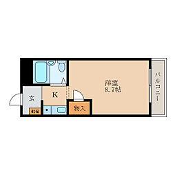 メゾン昴[3階]の間取り
