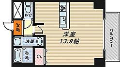 トリニティ・コート新金岡[6階]の間取り