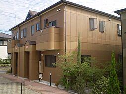 愛知県みよし市黒笹いずみ3丁目の賃貸アパートの外観