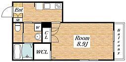 (仮称)東成区深江南1丁目ヘーベルメゾン[2階]の間取り