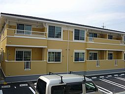 愛知県岡崎市緑丘1丁目の賃貸アパートの外観