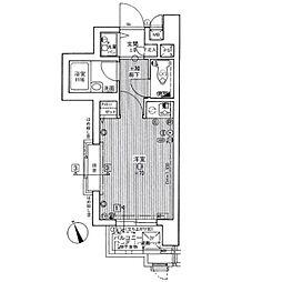 ライオンズマンション六本松第3[201号室]の間取り