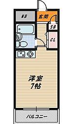カサグラシア[3階]の間取り
