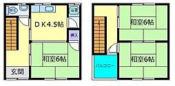 [一戸建] 大阪府堺市東区野尻町 の賃貸【/】の間取り