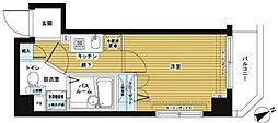 トーシンフェニックス日本橋兜町壱番館[5階]の間取り