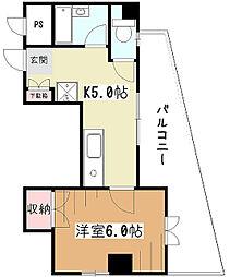 エトワール関谷[2階]の間取り
