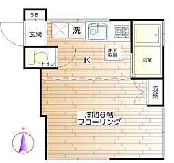エトランゼ[2階]の間取り
