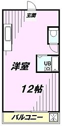 第2富士マンション[2階]の間取り