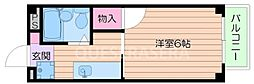 大阪府箕面市外院3丁目の賃貸アパートの間取り