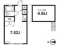 上板橋ハウス[2階]の間取り