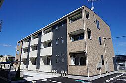栃木県鹿沼市緑町3の賃貸アパートの外観