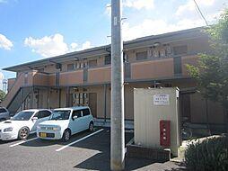 愛知県豊田市若林西町上ノ山丁目の賃貸アパートの外観