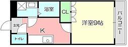 滋賀県彦根市中藪1丁目の賃貸アパートの間取り