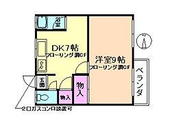 正栄マンション[3階]の間取り