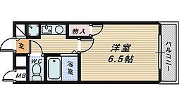 ノアーナ堺東[3階]の間取り