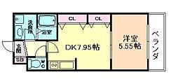 アーバネックス福島[11階]の間取り