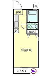 センチュリーAMI[2階]の間取り