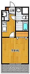 アソシアグロッツォ博多セントラルタワー[502号室]の間取り