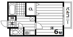 リッチハイツ[1階]の間取り