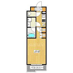 ルーブル赤羽台[3階]の間取り