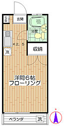 ホーユーハウス[2階]の間取り