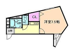 IBKHOUSEII[3階]の間取り