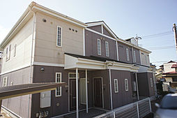 栃木県宇都宮市雀の宮2丁目の賃貸アパートの外観