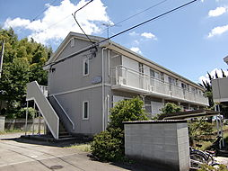 東京都八王子市丹木町3丁目の賃貸アパートの外観