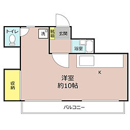 グレース北鎌倉[1階]の間取り