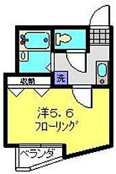カーナYokohama[101号室]の間取り