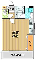 メゾン須磨2000[3階]の間取り