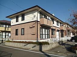 愛知県蒲郡市清田町夏目の賃貸アパートの外観