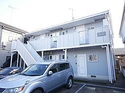 神奈川県座間市入谷3の賃貸アパートの外観