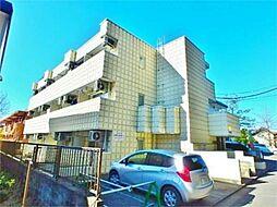 東京都多摩市馬引沢2の賃貸マンションの外観