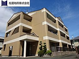 愛知県豊橋市大岩町字反茂の賃貸アパートの外観