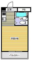 バイタル稲城ビル[2階]の間取り