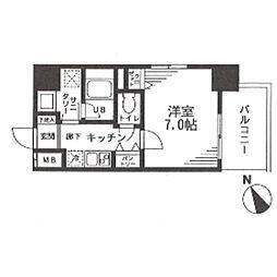 アルファステイツ浅草橋[2階]の間取り