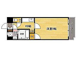ラティーナ松香台[4階]の間取り