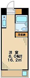 アートイン大塚[4階]の間取り