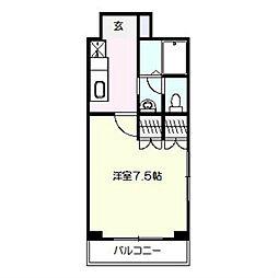 ステラハウス[1階]の間取り