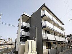 愛知県岡崎市柱町字東荒子の賃貸マンションの外観