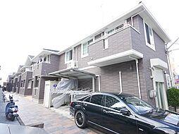 神奈川県相模原市南区相模台2丁目の賃貸アパートの外観