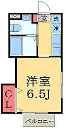 Fort幕張[1階]の間取り