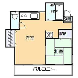 Daimoto壱番館[2階]の間取り